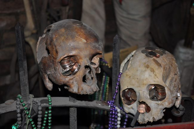 The Historic Voodoo Museum of New Orleans. Photo by Flickr/Jennifer Boyer