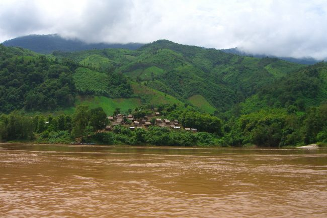 The Mekong River, where the Phaya Naga is said to live. Photo by Flickr/smulan77