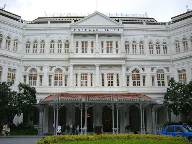 The Raffles Hotel Singapore. Flickr/Sergey