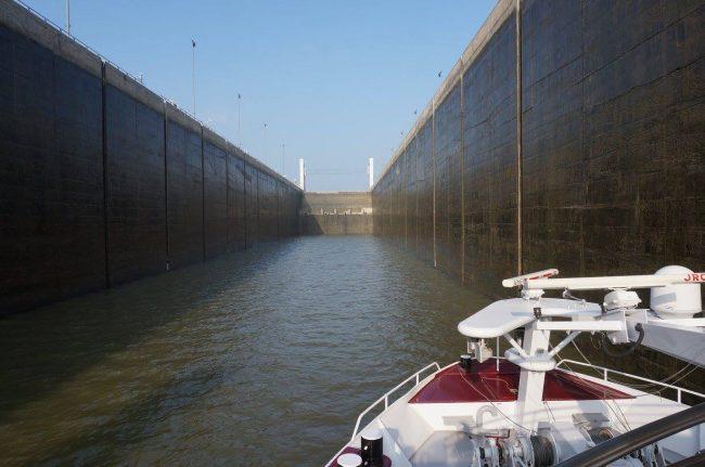 Danube River lock