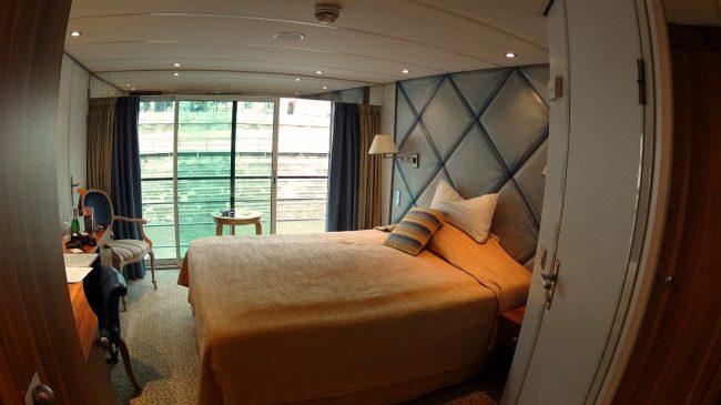River cruise cabin