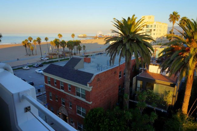Shutters hotel room view