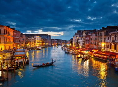 Travel in Venice, Italy