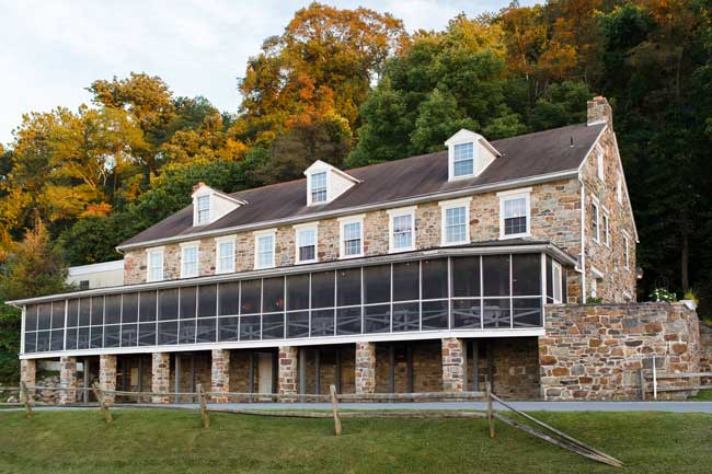 The Accomac is an historic inn in York County, PA. Photo by Carri Wilbanks