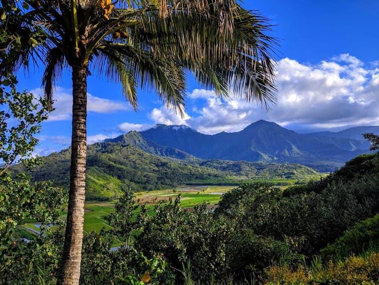 Travel in Kauai includes stunning scenery around every corner