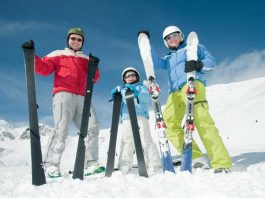 Colorado is a top ski destination for families.
