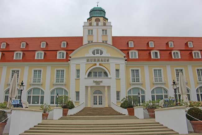 The German island of Rügen is known for its classic spa architechture. Photo by Janna Graber