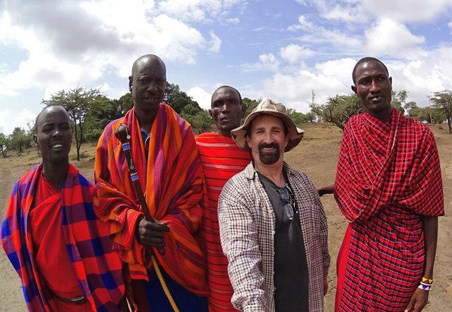 Maasai selfie