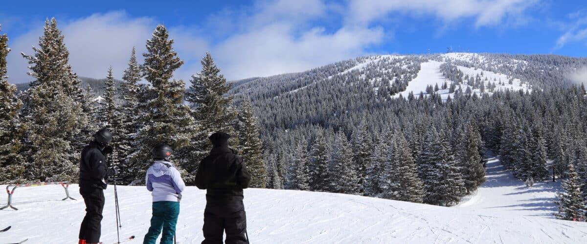 Skiing in Santa Fe, New Mexico