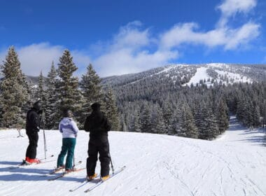 Skiing in Santa Fe, New Mexico
