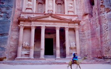 Inside Petra & Little Petra. Photo by Christine Loomis