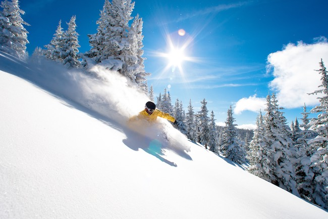 Vail's famous Blue Sky Basin. Photo by Jack Affleck, courtesy of Vail Resorts