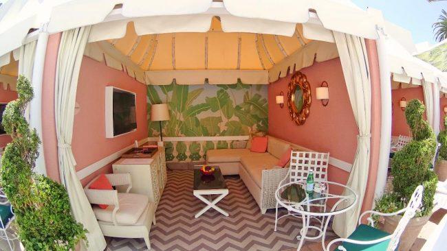 Beverly Hills Hotel cabana