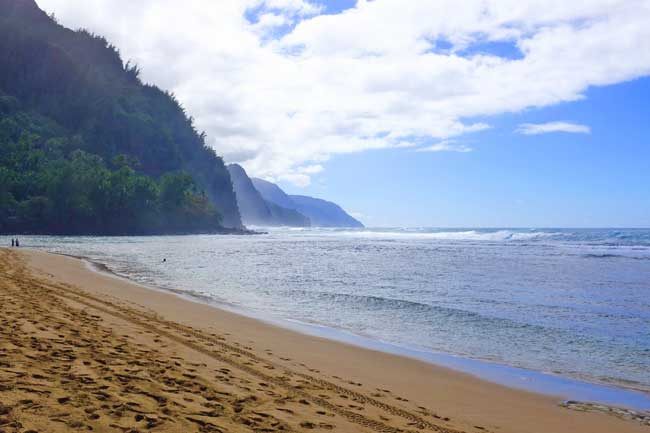 Swimming the Kalalau Trail in Kauai
