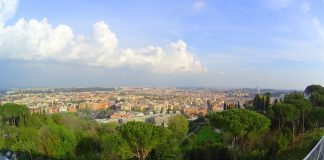 View from Rome Cavalieri