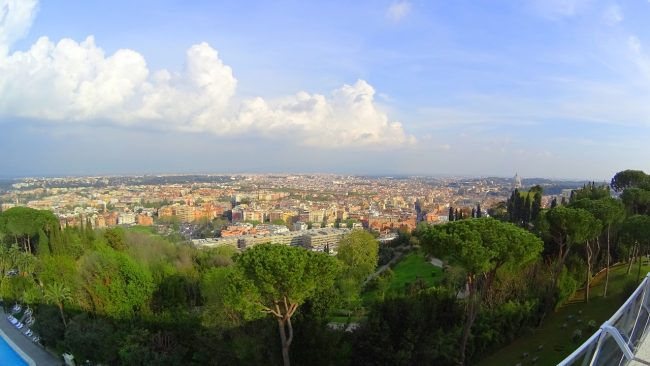 Views for Days from the Rome Cavalieri, A Waldorf Astoria Hotel