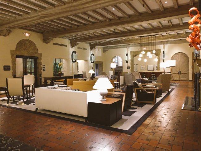 Fairmont Sonoma lobby