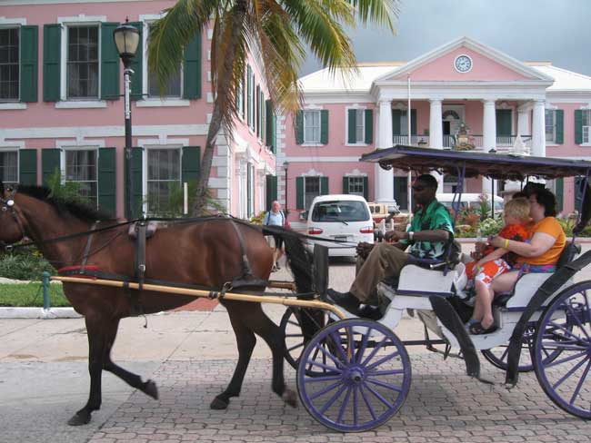 Nassau, Bahamas has a rich colonial history. Photo by Rich Grant