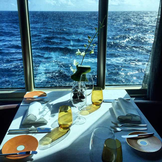 Dining is a pleasure on a Holland America cruise. Photo by Rich Grant