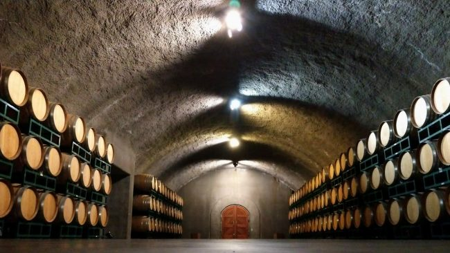 Gloria Ferrer Vineyards cave