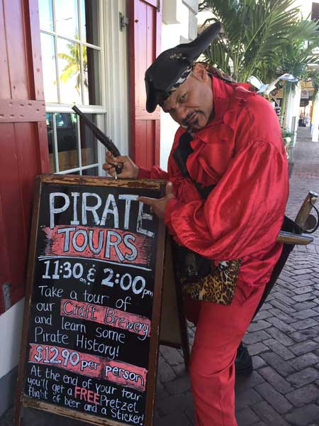 Pirate tours in Nassau. Photo by Rich Grant