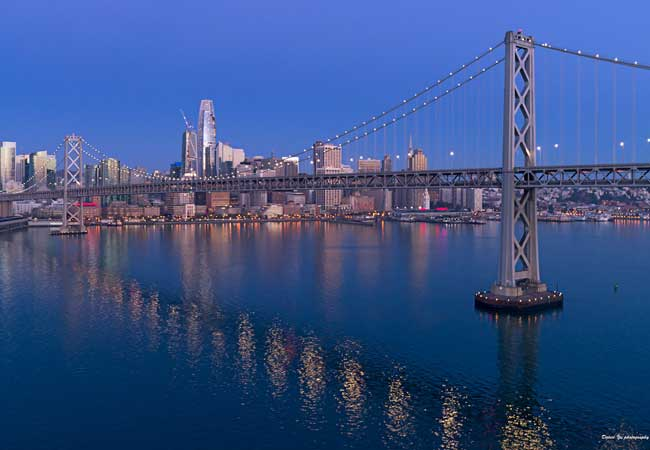 San Francisco in the early morning light. Flickr/David Yu