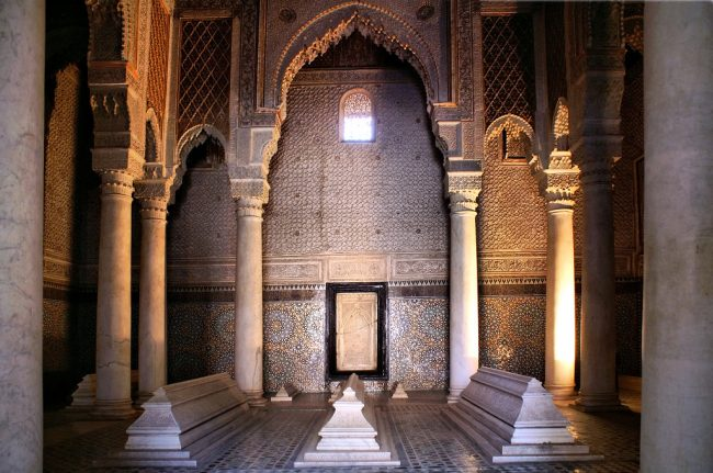 Inside a building in Marrakech. Photo by Flickr/Diana K