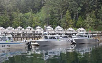 Waterfall Resort on Prince of Wales Island is a top fishing resort in Alaska. Photo by Janna Graber