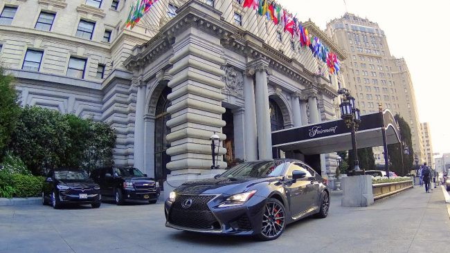 Lexus RC F in San Francisco