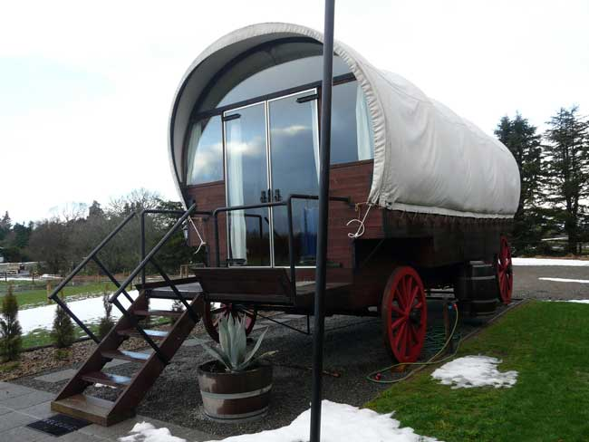 Glamping provides nature and comfortable accommodations