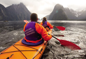 New Zealand Adventure: Cruise in Fiordland National Park
