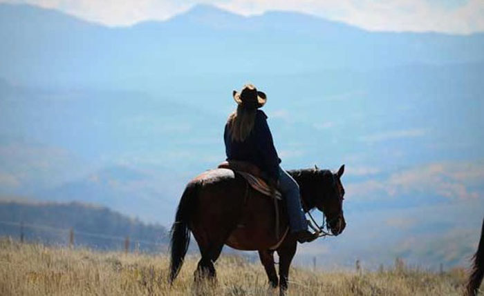 Solo travel at a dude ranch in Colorado