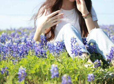 Experience the bluebonnets of Texas