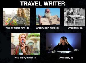 Travel Writing Humor