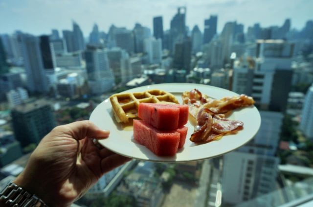 Breakfast at Conrad Bangkok