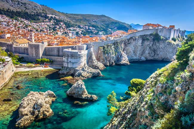 Dubrovnik, Croatia is the backdrop for Game of Thrones