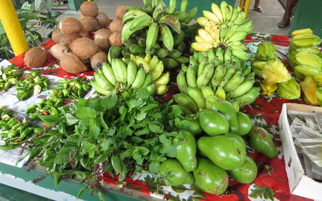 Some of the local produce you can find at Victoria Market. Photo by Nicoletta Pavese