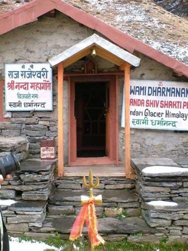 A hut on the Pindari Glacier Trek in India. Photo by On the Pinadari Glacier Trek in the Himalayas. Photo by Dan Gowanlock