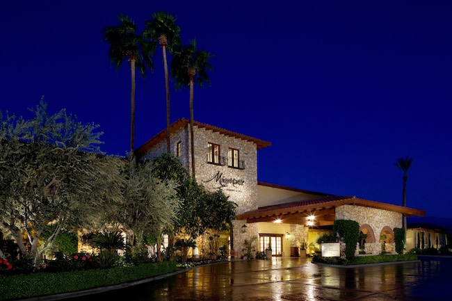 Entrance to Miramonte. Photo courtesy of Miramonte Resort & Spa