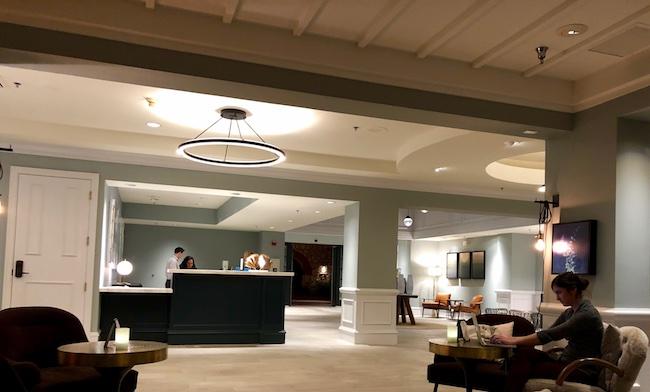 Contemporary lobby. Photo by Claudia Carbone
