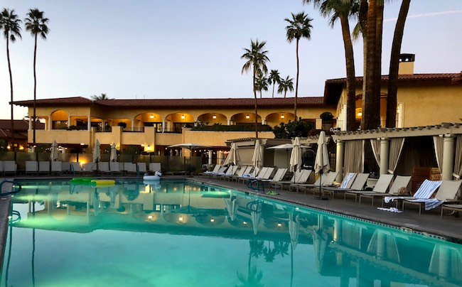 One of three pools at Miramonte Resort. Photo by Claudia Carbone