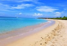 Many come to Nusa Dua for the beautiful beaches. Photo by Carrie Dow