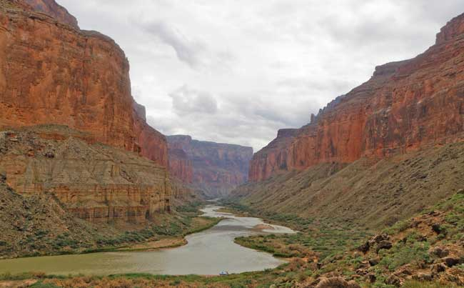 The Grand Canyon in Arizona offers plenty of river adventure. Flickr/Ronald Woan