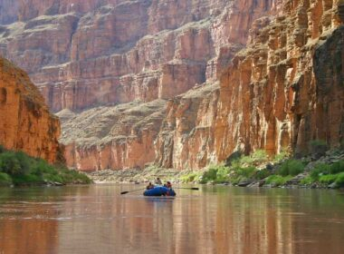 Float trip in the Grand Canyon