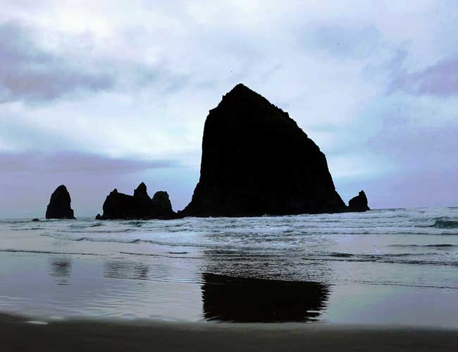 Canon Beach, Oregon.