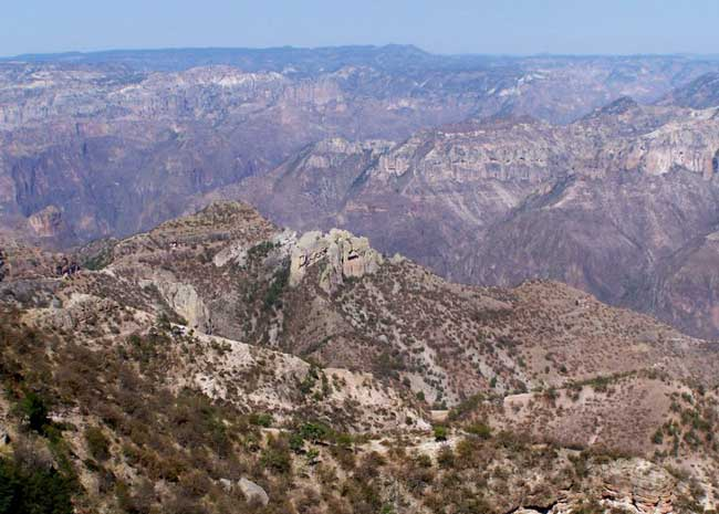 Incredible views of Copper Canyon in Mexico. Photo by Carol L. Bowman