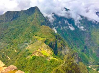 View of Machu Picchu from the top of Huayna Picchu. Photo courtesy Machu Travel Peru