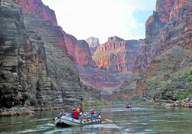 Float trip in the Grand Canyon. Flickr/l_HikesAZ