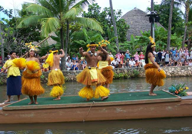 Polynesian Cultural Center. Flickr/Joel