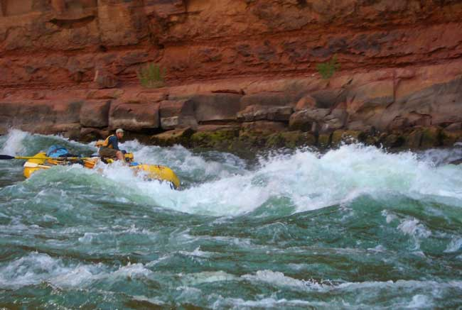 White water rafting in the Grand Canyon. FLickr/Jennifer